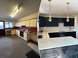 Couple transform their £280,000 house into luxurious space while working full-time