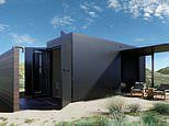 Architects design a bushfire proof luxury home out of shipping containers