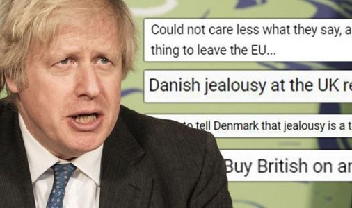 'Jealousy is a terrible trait!' Britons furious as Denmark mocked 'small nation' UK