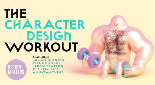 Give your character designs a workout with Computer Arts