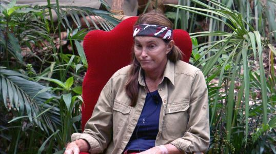 I'm A Celebrity's Caitlyn Jenner 'likes it on top' and viewers' minds are in the gutter