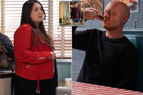 EastEnders' Stacey spends the night at Max's as affair looks set to be reignited