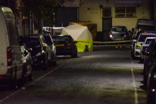 Two arrested on suspicion of murder after three men stabbed to death in London