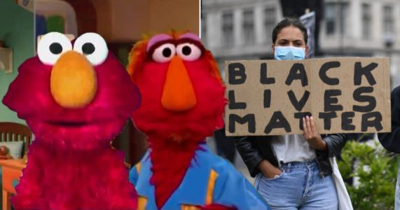 Sesame Street character Elmo's dad explains what racism is to kids and why people are protesting for Black Lives Matter
