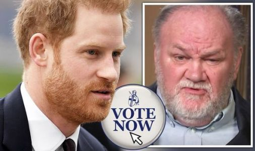 Royal POLL: Should Prince Harry fly to see his father-in-law Thomas Markle in person? VOTE