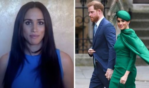 Meghan Markle confession: Duchess hints royal exit was 'hardest part' in new speech