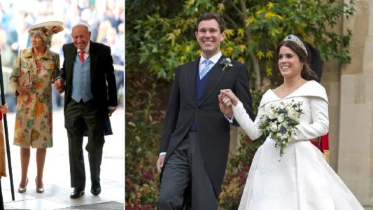 Princess Eugenie's father-in-law 'in intensive care battling coronavirus'