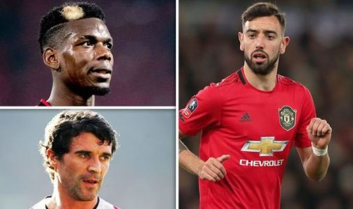 Man Utd star Paul Pogba urged to play like Roy Keane to help new team-mate Bruno Fernandes