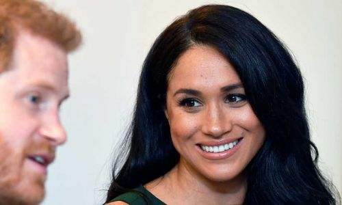 Prince Harry reassures Meghan Markle she looks amazing after post-baby self doubt