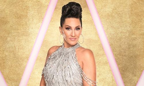 Michelle Visage sparks injury fear as she's pictured in knee brace hours before first Strictly show
