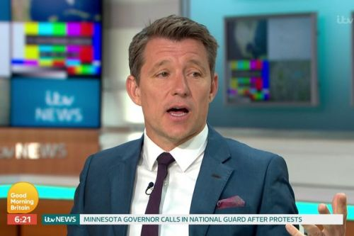 Emotional Ben Shephard 'sends love' to Kate Garraway after she's pictured crying