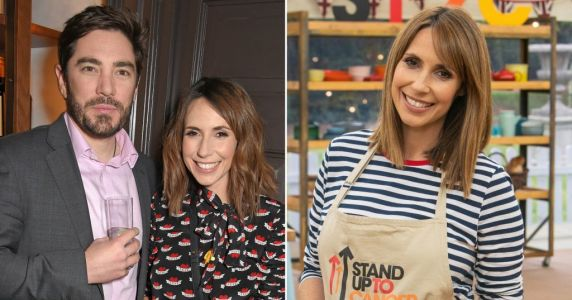 Who is Alex Jones' husband Charlie Thomson as The One Show host appears on Celebrity Bake Off?