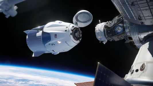 SpaceX's new 'Endeavour' spaceship just made history by docking to the International Space Station with 2 NASA astronauts inside