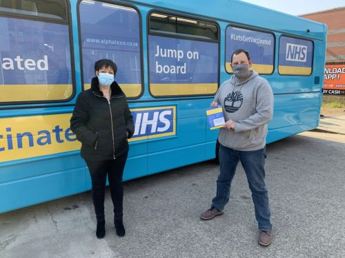 NHS COVID-19 Vaccination Bus launches in Liverpool