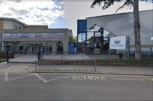 Boy, 13, fighting for life after 'man attacks people with pole outside school'