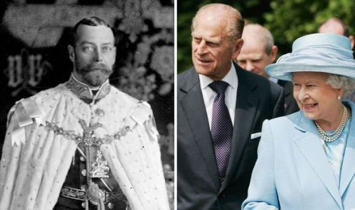 Royal rescue: How Queen's grandfather saved Prince Philip's life before engagement exposed