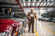 At work with Norman Dewis, Jaguar Land Rover's legendary test engineer