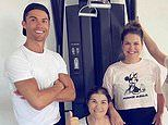 Ronaldo shares snap with mum after she was released from hospital