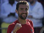 Marin Cilic comes from behind to beat Novak Djokovic in Queen's final