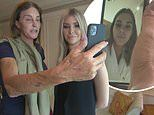 I'm A Celebrity's Caitlyn Jenner reunites with Sophia before a surprise video call from Kendall
