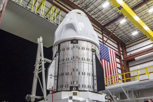 SpaceX's Crew Dragon Endeavour meets Falcon 9 rocket for launch next week