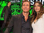 Matthew McConaughey becomes co-owner of Austin FC and announces the big news with Camila Alves