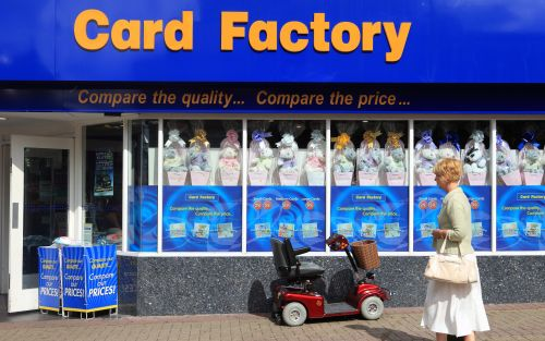 Card Factory will continue to open stores despite high street woes
