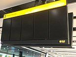 Flight chaos at Heathrow as electronic departure screens FAIL