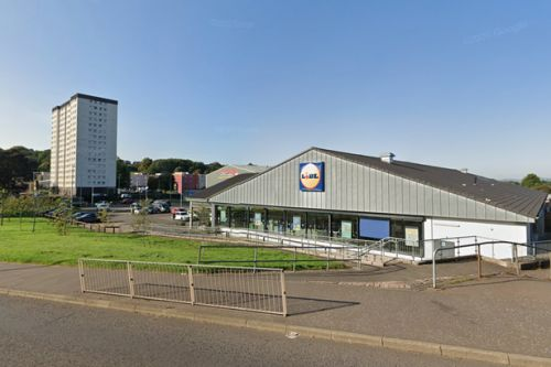 Cops hunt driver after shopper hurt in hit-and-run in Scots Lidl car park