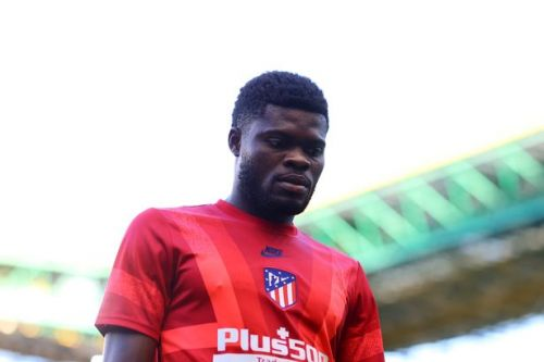 Thomas Partey benched by Atletico Madrid amid Arsenal transfer rumours
