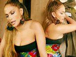 Jennifer Lopez wows in strapless dress as she tosses ex's clothes out the window in Se Acabó El Amor