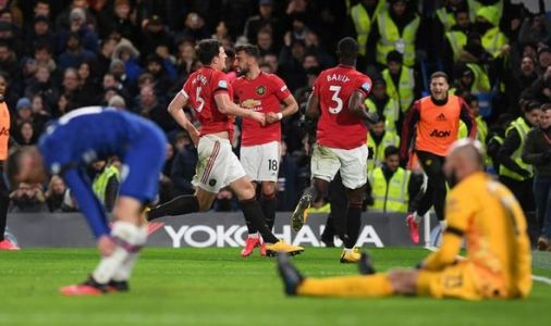 Chelsea player ratings vs Man Utd: Just one star higher than 6 as Blues slump to home loss