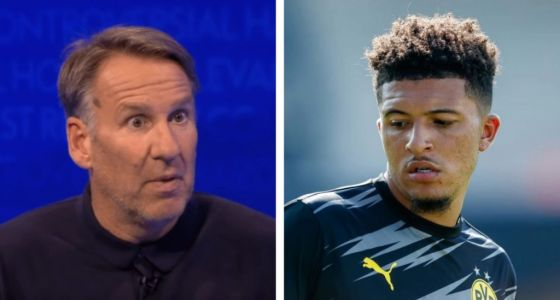 Paul Merson tells Manchester United to snub Jadon Sancho transfer and spend £100m on Harry Kane instead