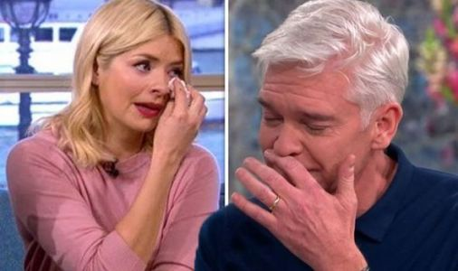 Phillip Schofield breaks down in tears in tribute to Holly Willoughby: 'She's astonishing'