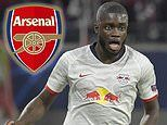 Arsenal favourites to land RB Leipzig defender Dayot Upamecano in £50m transfer after failed summer move