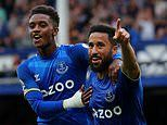 Andros Townsend steps up for Everton as Toffees dream of European football