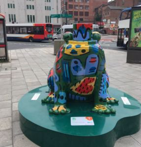 We've Had The Bees - Now Giant Frogs Are Coming To Greater Manchester