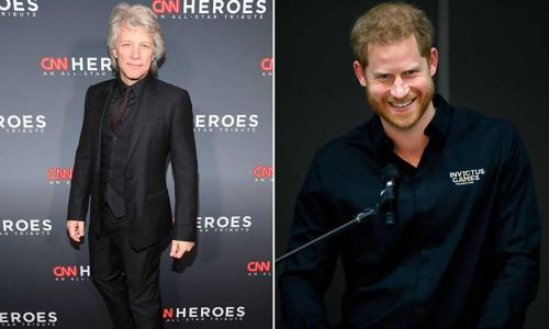 Prince Harry's hilarious text exchange with Jon Bon Jovi is the best video you'll see today
