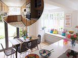 Couple's 'disjointed' Victorian cottage is transformed into a 'lush' family home