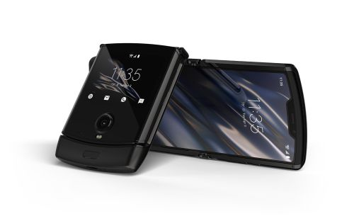 Motorola's iconic Razr is back, with a fully foldable screen design
