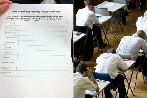 School slammed for asking pupils to vote for 'best looking' child