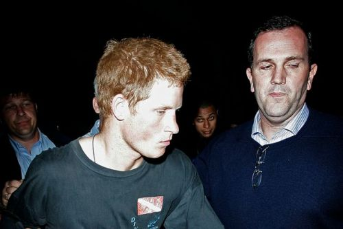 Prince Harry visited rehab after drink and drugs partying instead of revising