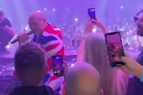 Inside Tyson Fury's wild Las Vegas afterparty following victory over Deontay Wilder