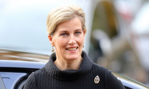 Countess Sophie surprises in statement black outfit for latest appearance