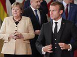 Angela Merkel blasts Macron and his allies over threats to Poland after challenge to European laws