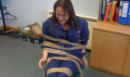 Taped to chair for 'speaking out against boys': Shock pics of fisheries 'whistleblower'
