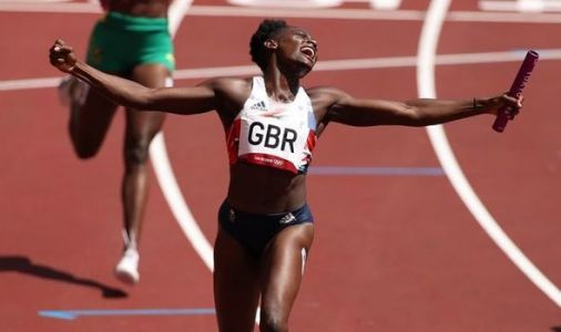'Never any doubt' Team GB smash national record in women's 4x100m relay heat