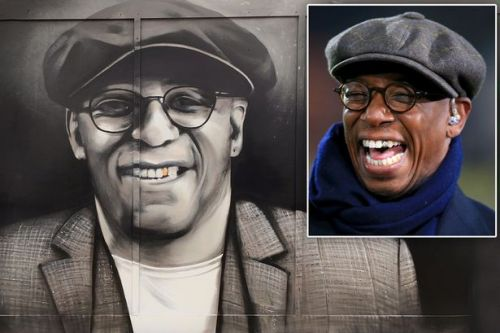 Ian Wright honoured as incredible mural unveiled where Arsenal icon grew up