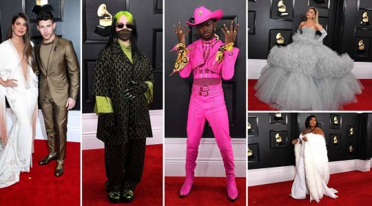 Billie Eilish, Lil Nas X, Priyanka Chopra and Nick Jonas lead the Grammys red carpet