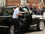 Prince William used a DOLL to practice before putting newborn Prince George in a car seat